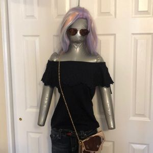 Ann Taylor off the shoulder too. Size small